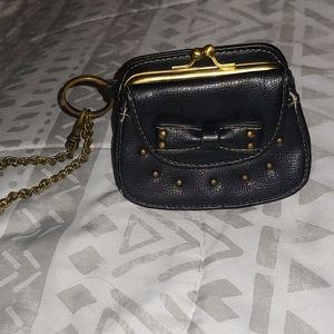 Keychain change purse